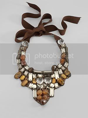 Multi-Stone Bib Necklace-                                Neiman Marcus :  necklace ranjana khan bib necklace