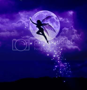 night fairy moon
