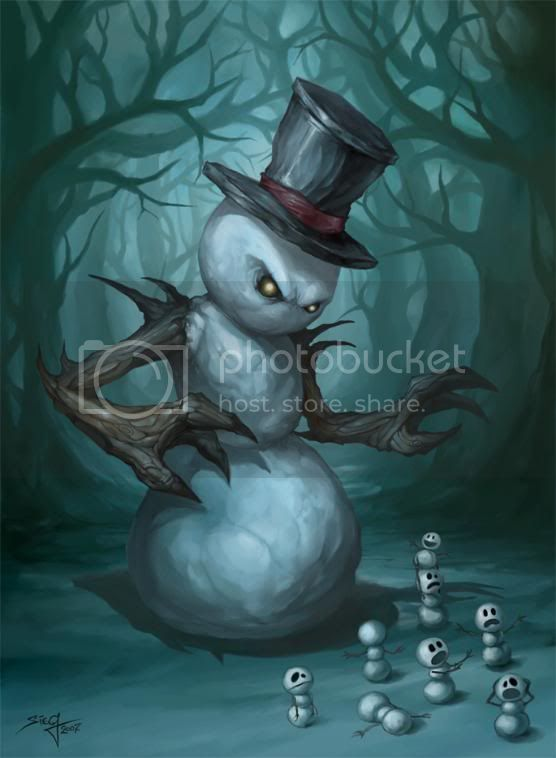killer snowman