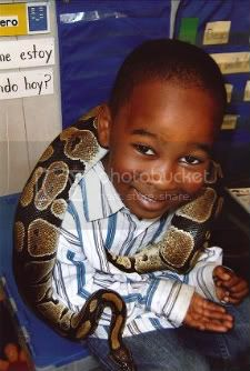 Kid With Snake